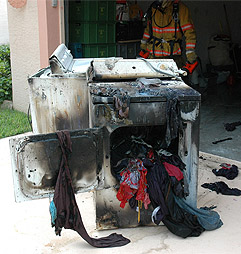 Dryer Fires - Fishers Carpet Cleaning